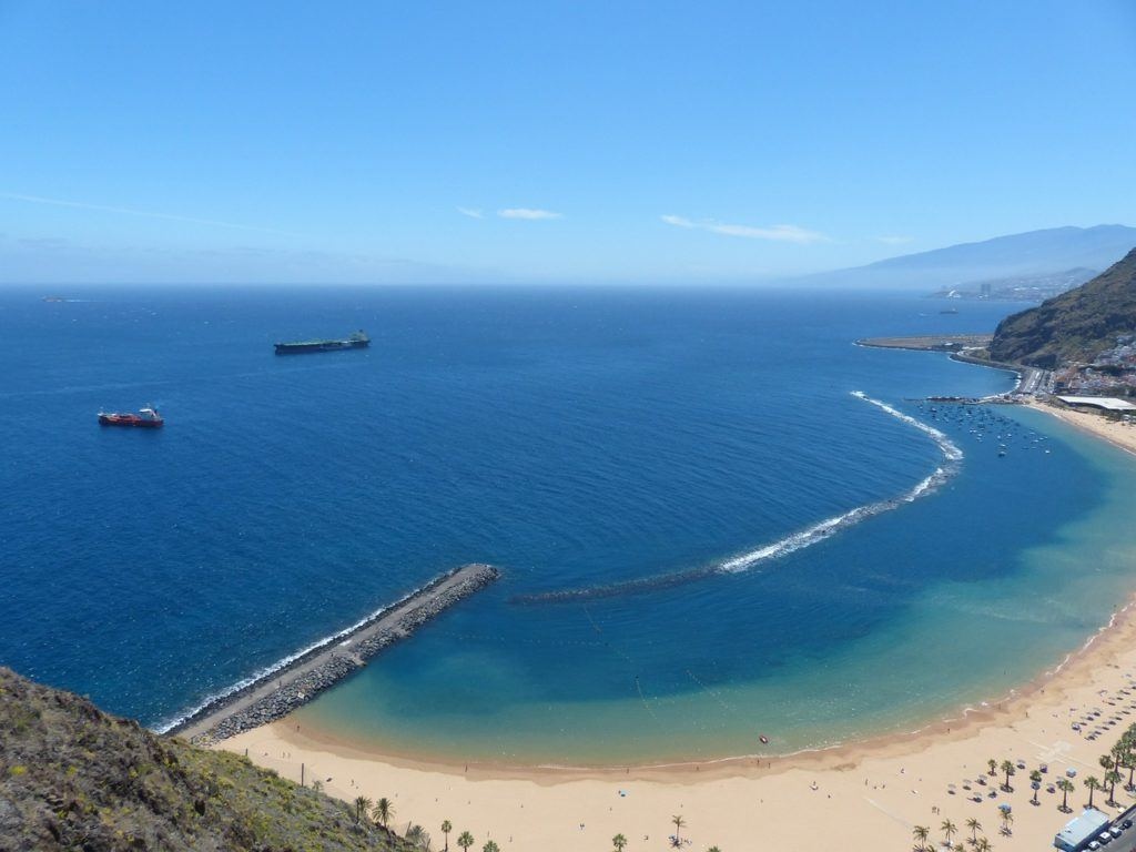 Tenerife-golden-sand-beach