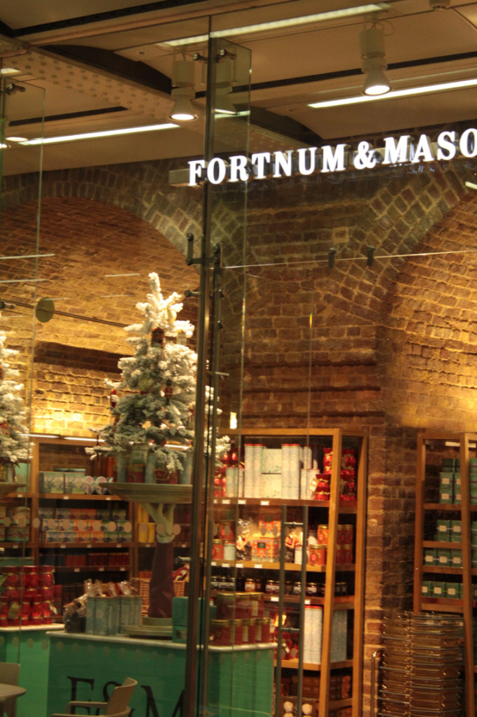 Fortnum and Manson at St Pancras Station