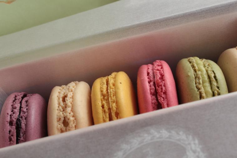 Macaroons from Laduree in Paris