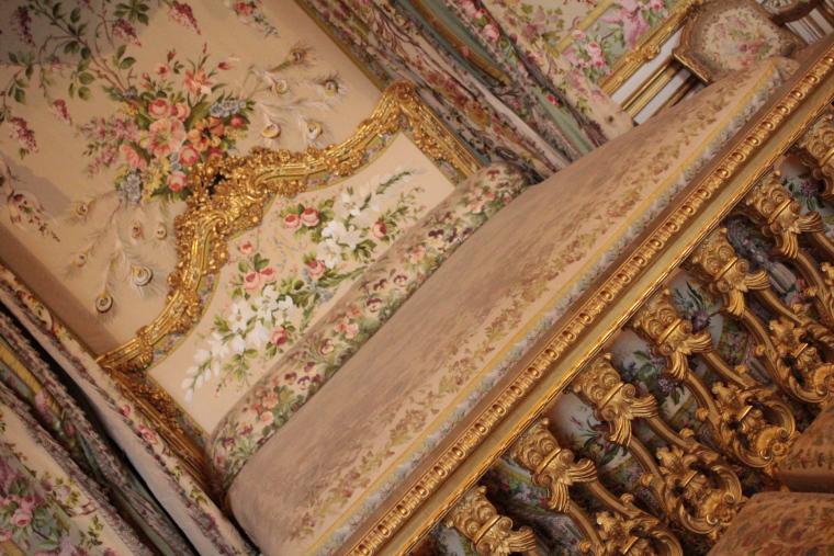 The Queen's bedroom in Versailles Palace