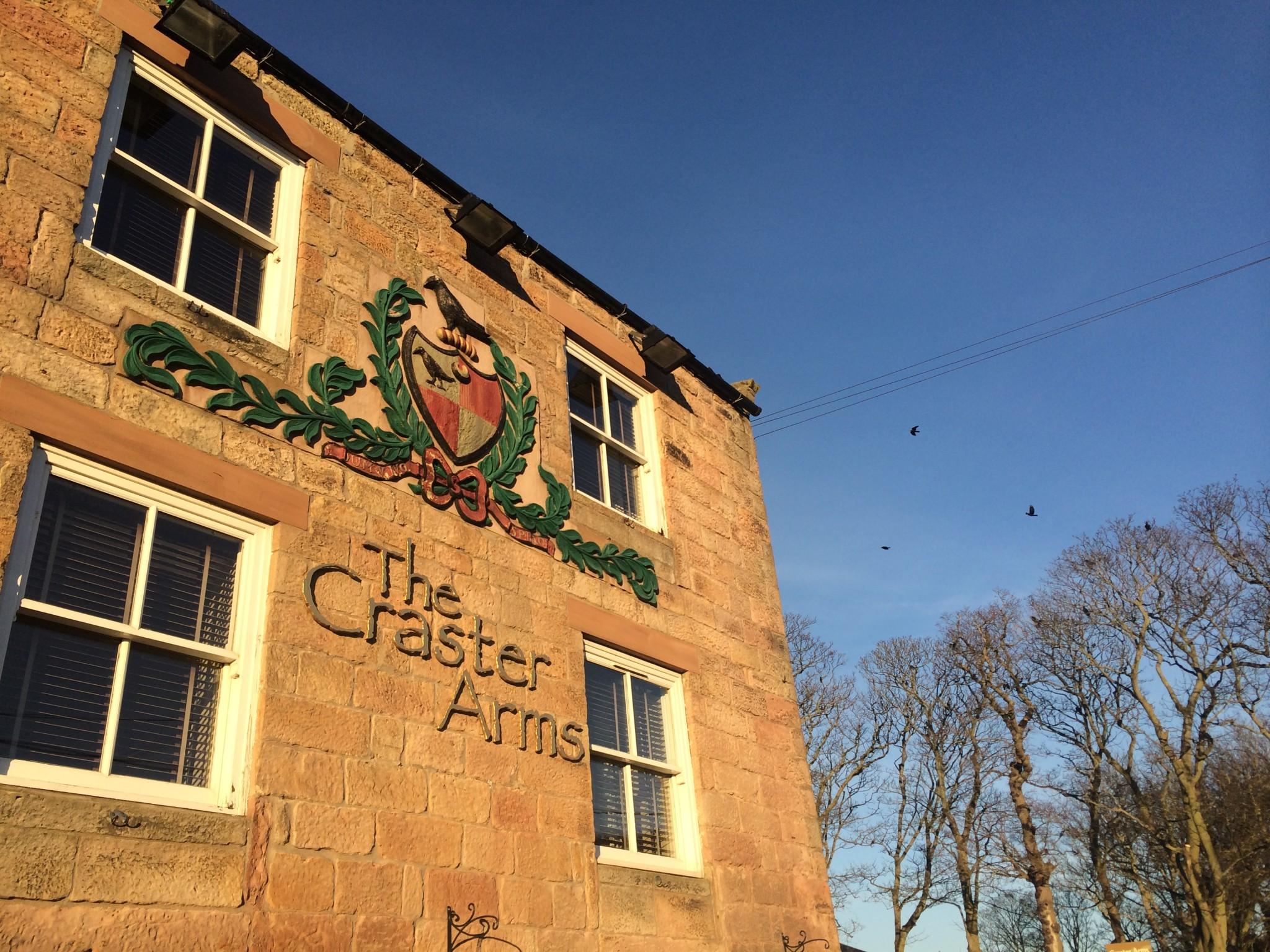 the Craster Arms is just around the corner!