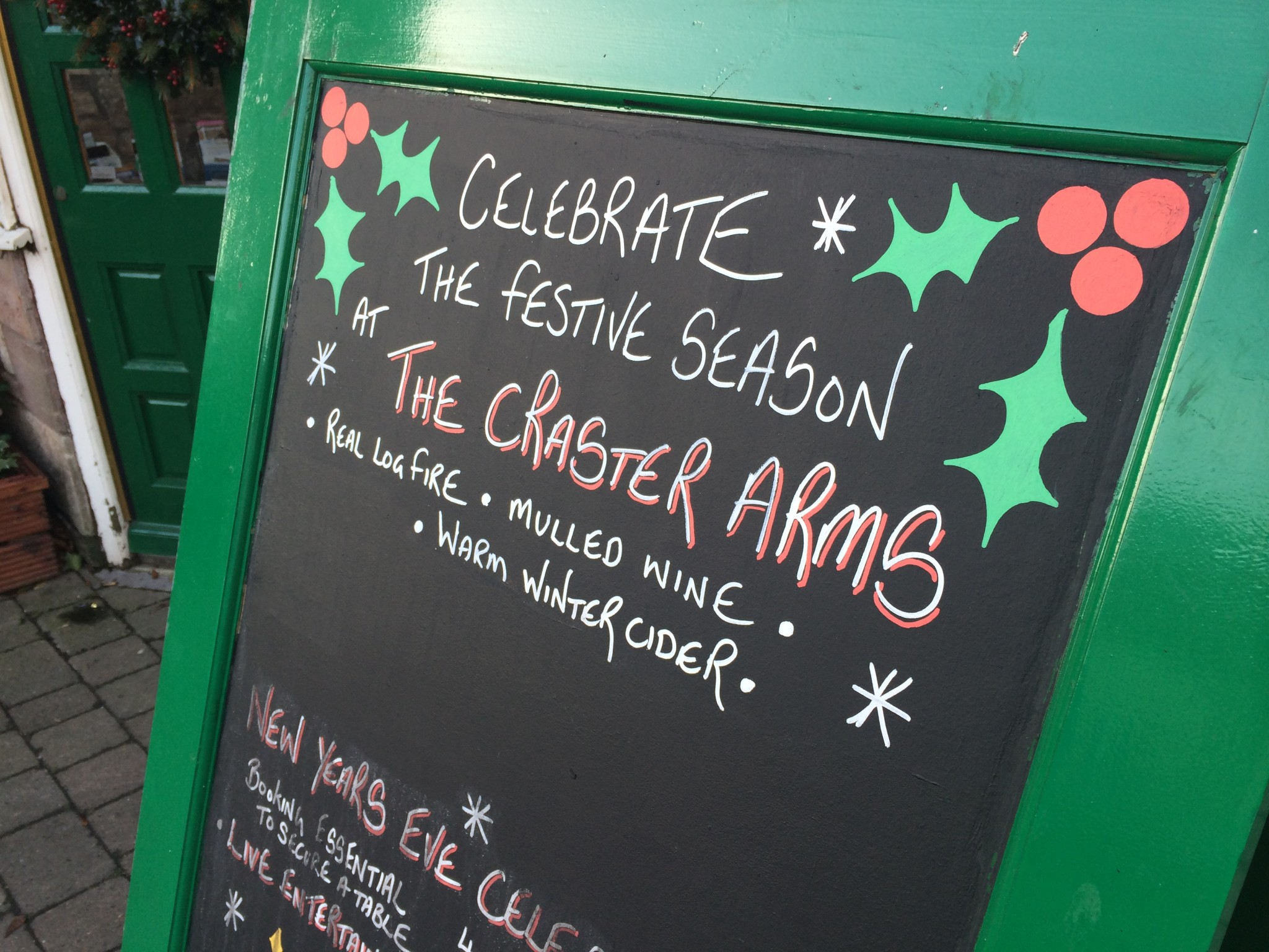 Christmas at the Craster Arms looked good!