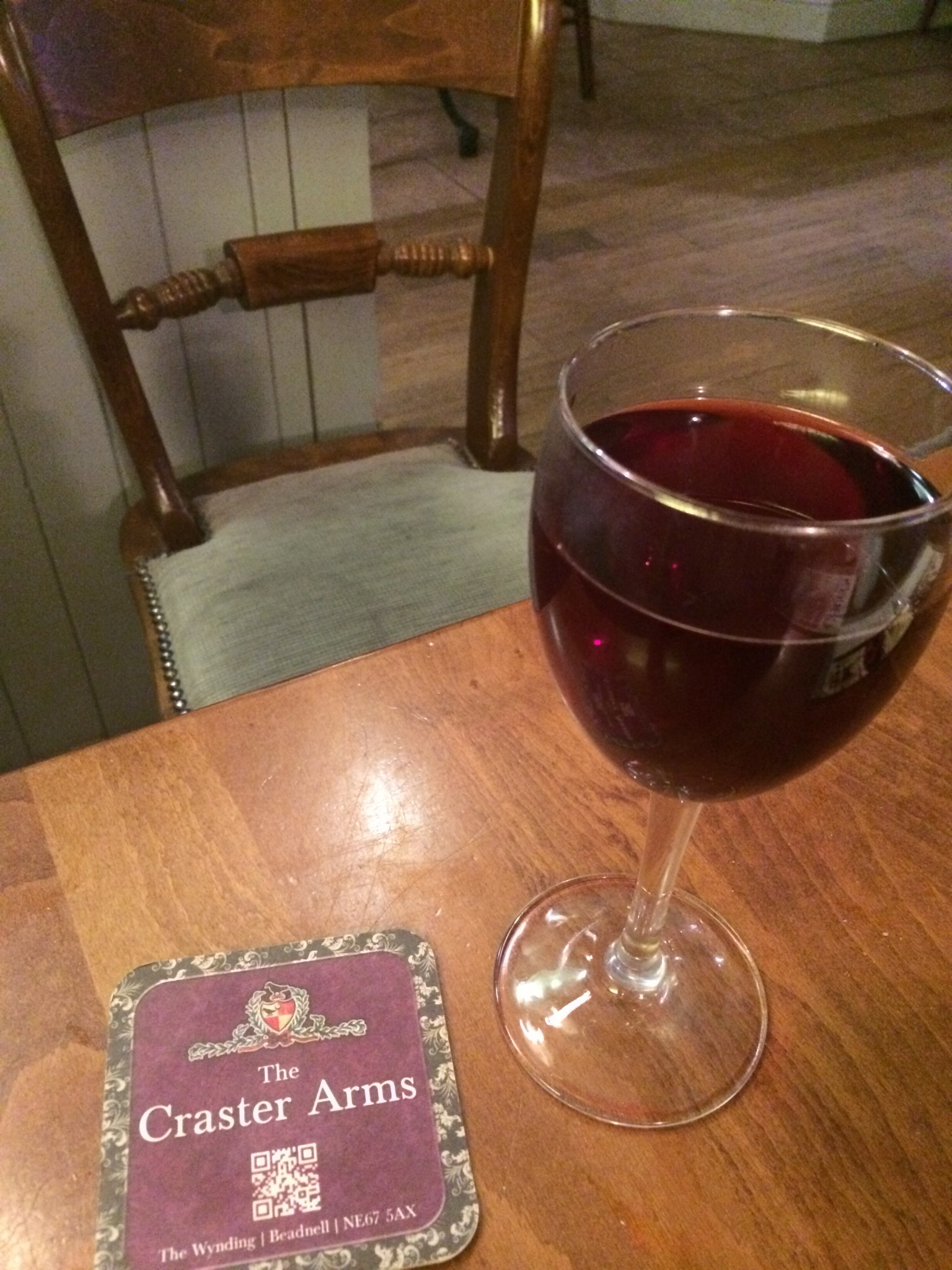 Expect good grub and drink at the Craster Arms, Beadnell