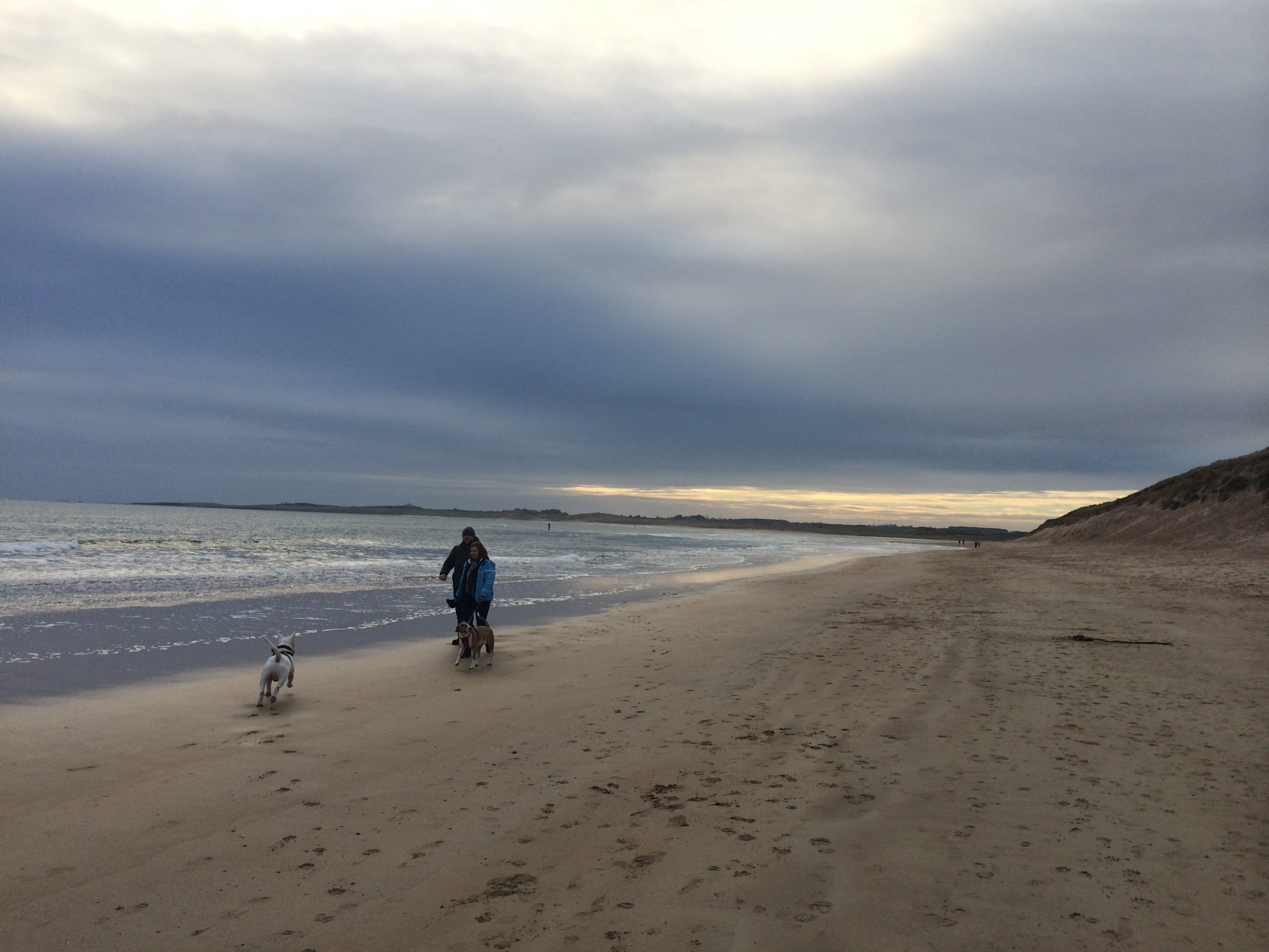 Beadnell beach is simply stunning, spring, summer or winter