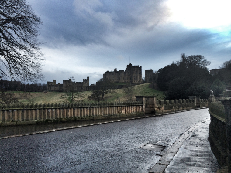 Snapshots of Alnwick Castle and Gardens, Northumberland