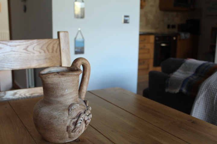 Petite dining for 2 at this wonderful holiday apartment in Beadnell