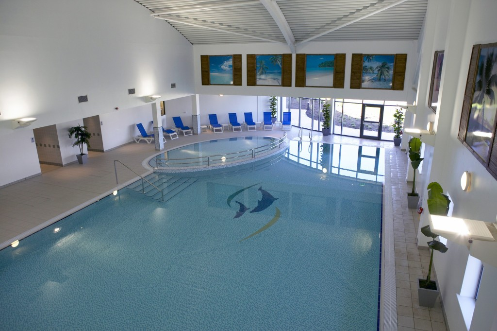 The Ocean Club Pool in Beadnell, Northumberland