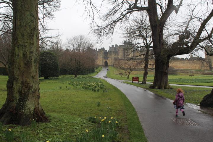 Alnwick Castle Outside