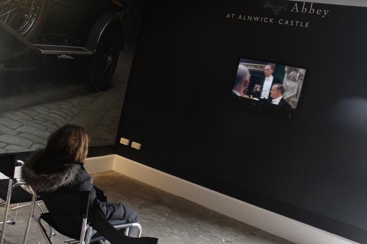 Downton Abbey exhibition in Alnwick CAStle