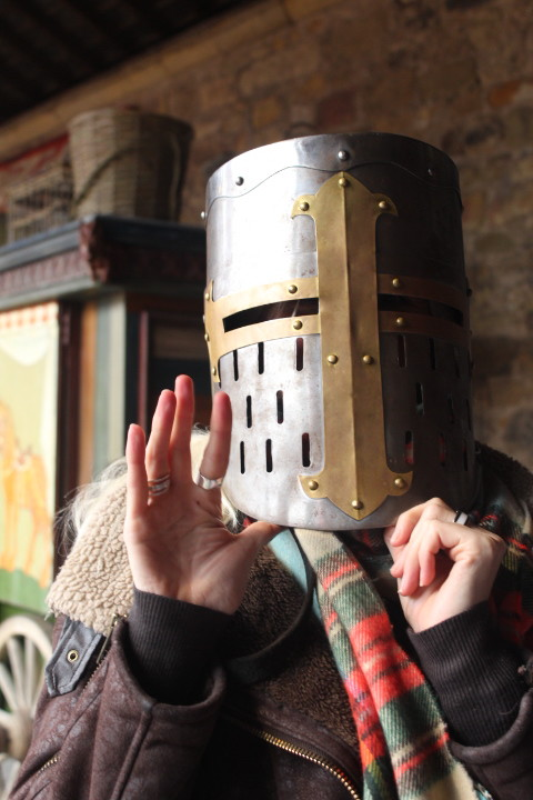Knights Quest dressing up Alnwick Castle