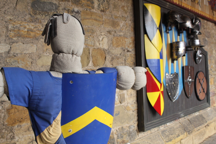 Knights Quest in Alnwick Castle