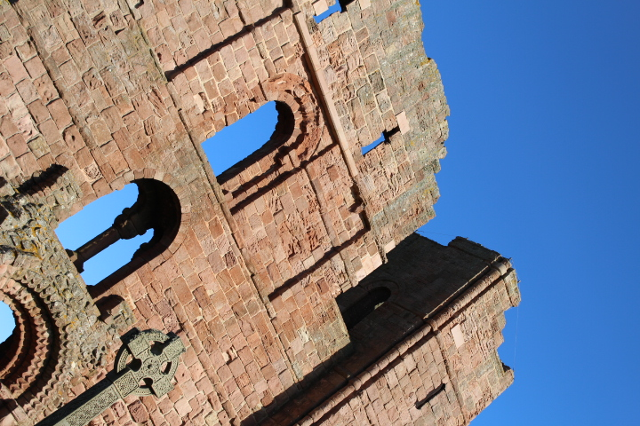 Lindisfarne Priory Northumberland
