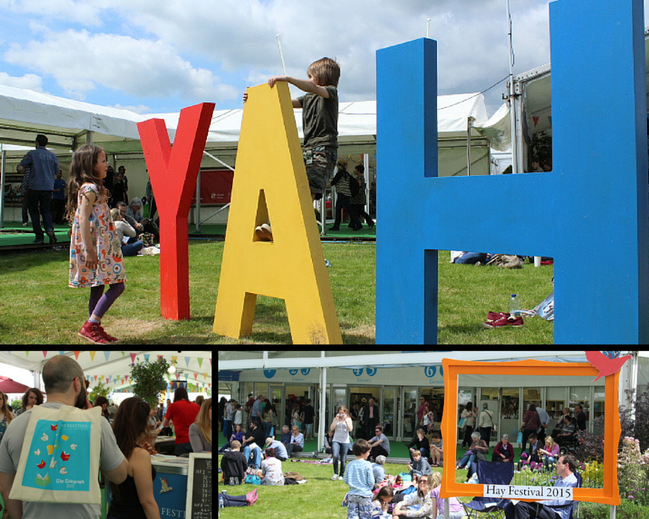 Hay Festival Montage of Site