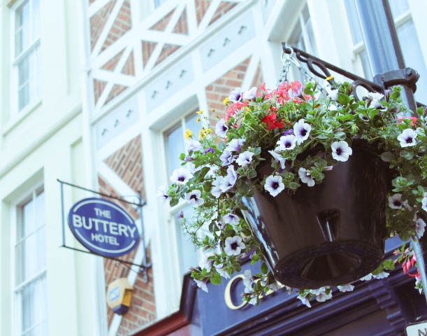 The buttery hotel exterior oxford
