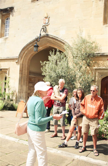 Oxford walking tour