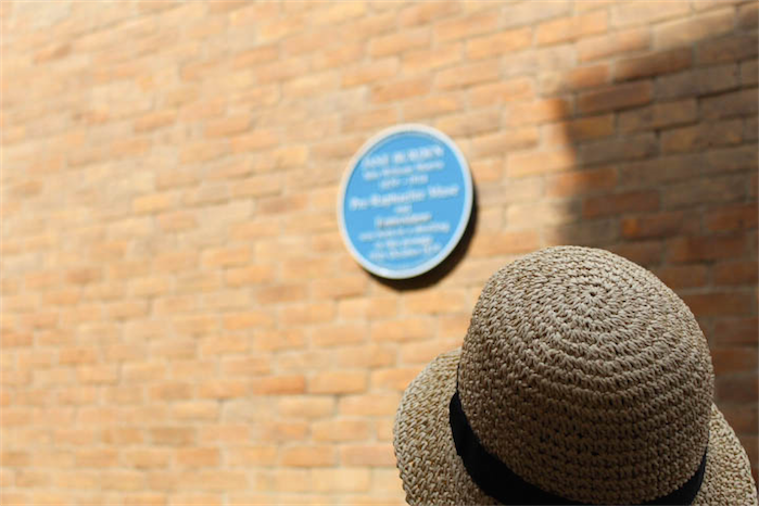 Blue plaque in oxford