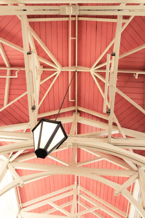 the covered market roof