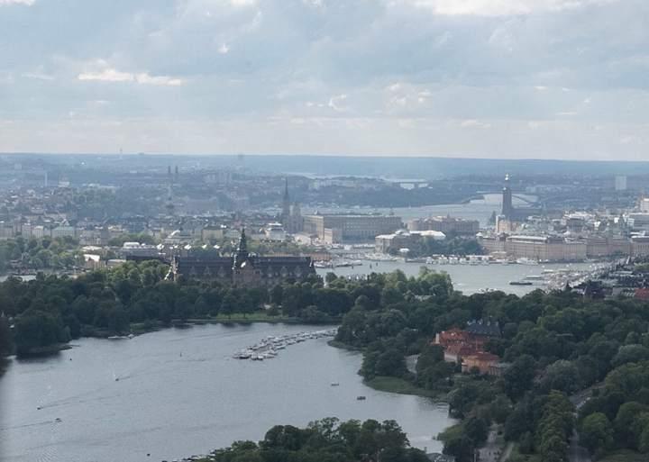 View from TV Tower (Kaknastornet)