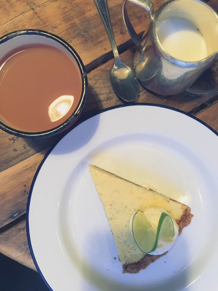 Key lime pie at Eat Wild In cirencester