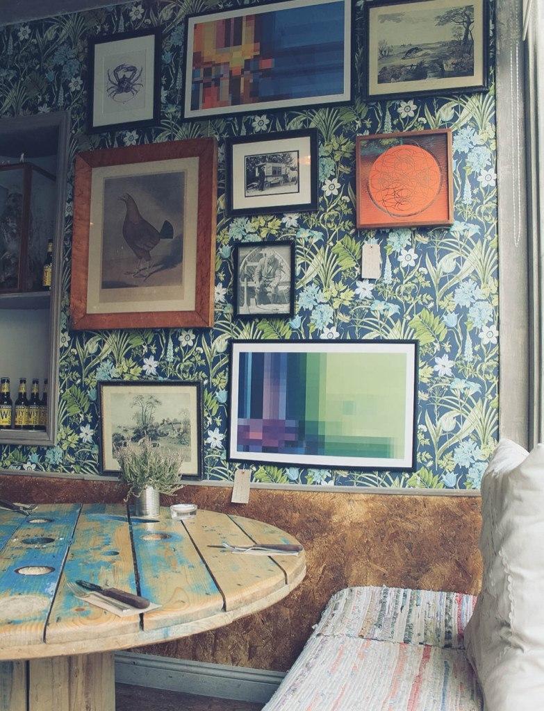 Interior of Eat Wild, Cirencester