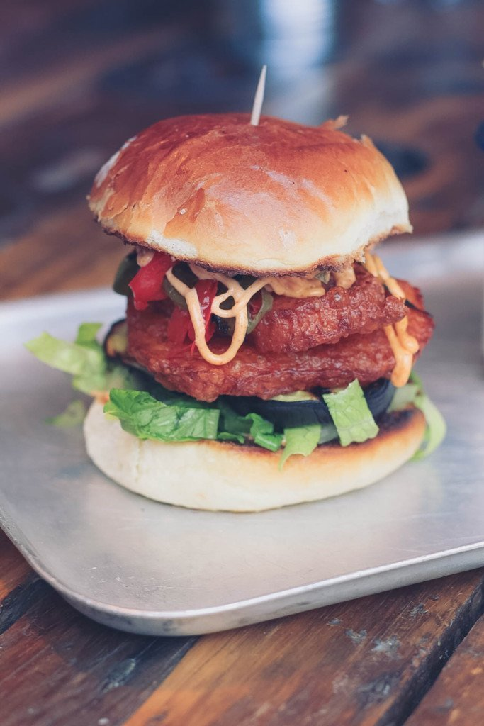 Burger at Eat Wild, Cirencester