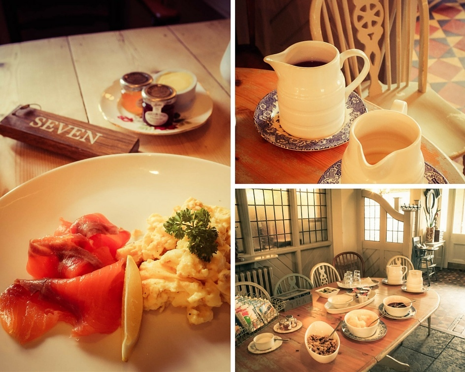 Breakfast at the Falcon Painswick