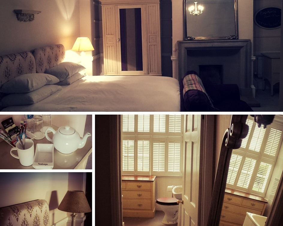 Room at the Falcon Hotel Painswick
