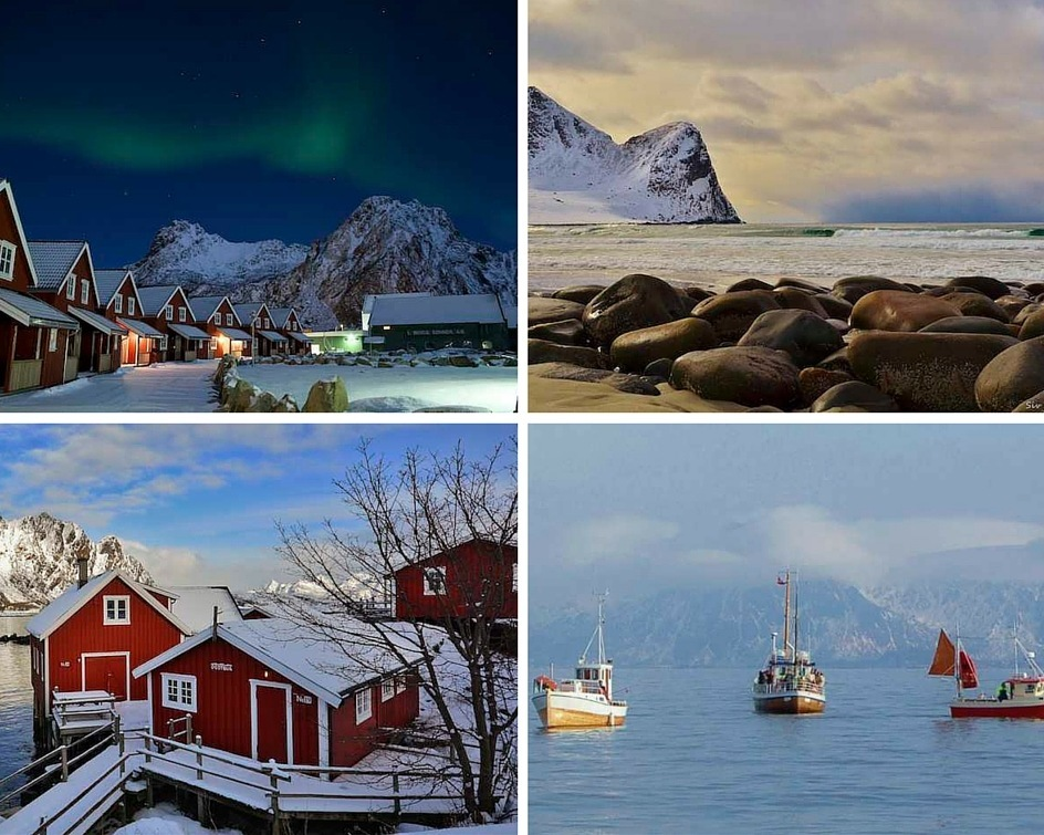 Lofoten and Northern Lights montage
