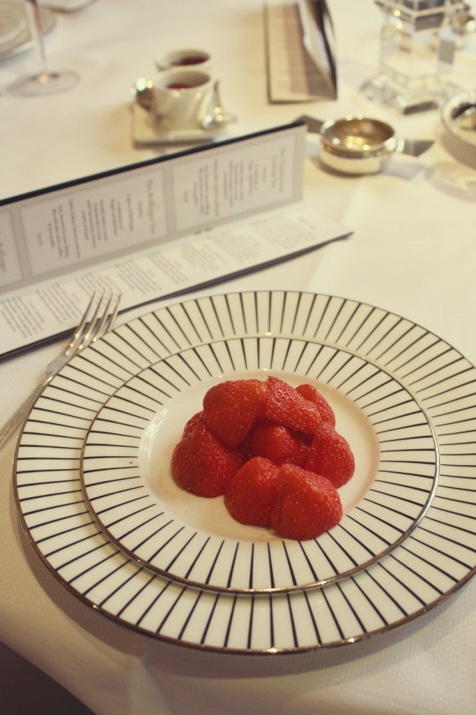 The Goring Hotel, London - Bollinger Afternoon tea strawberries