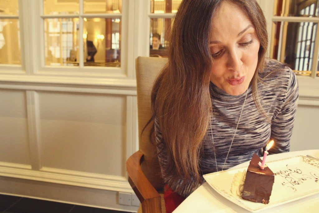 The Goring Hotel, London - afternoon tea birthday