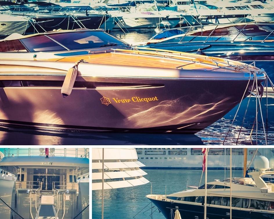 Luxury boats in Monaco