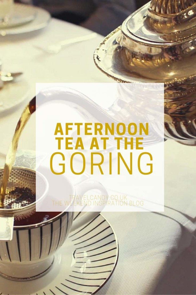 Afternoon Tea at The Goring pinable image