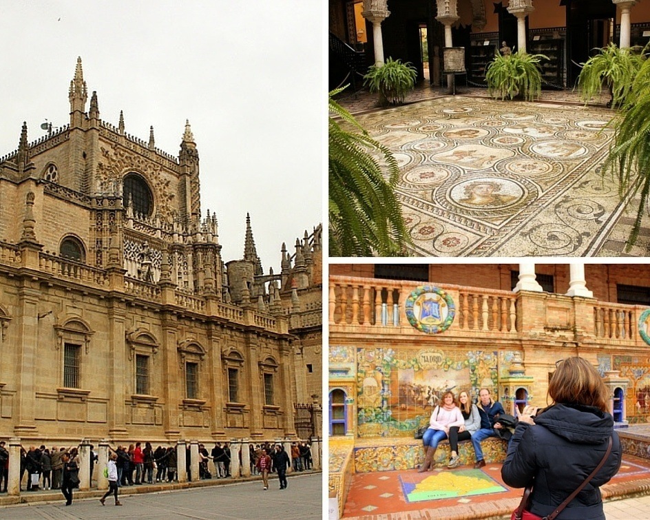 Various images of Seville
