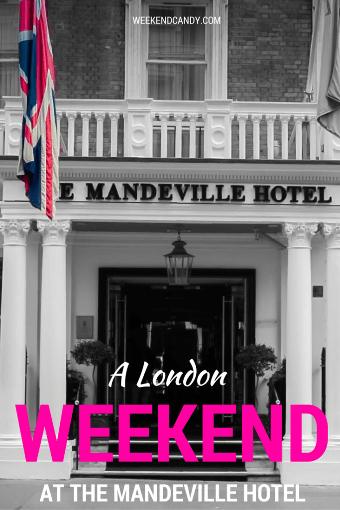 The Mandeville Hotel in London