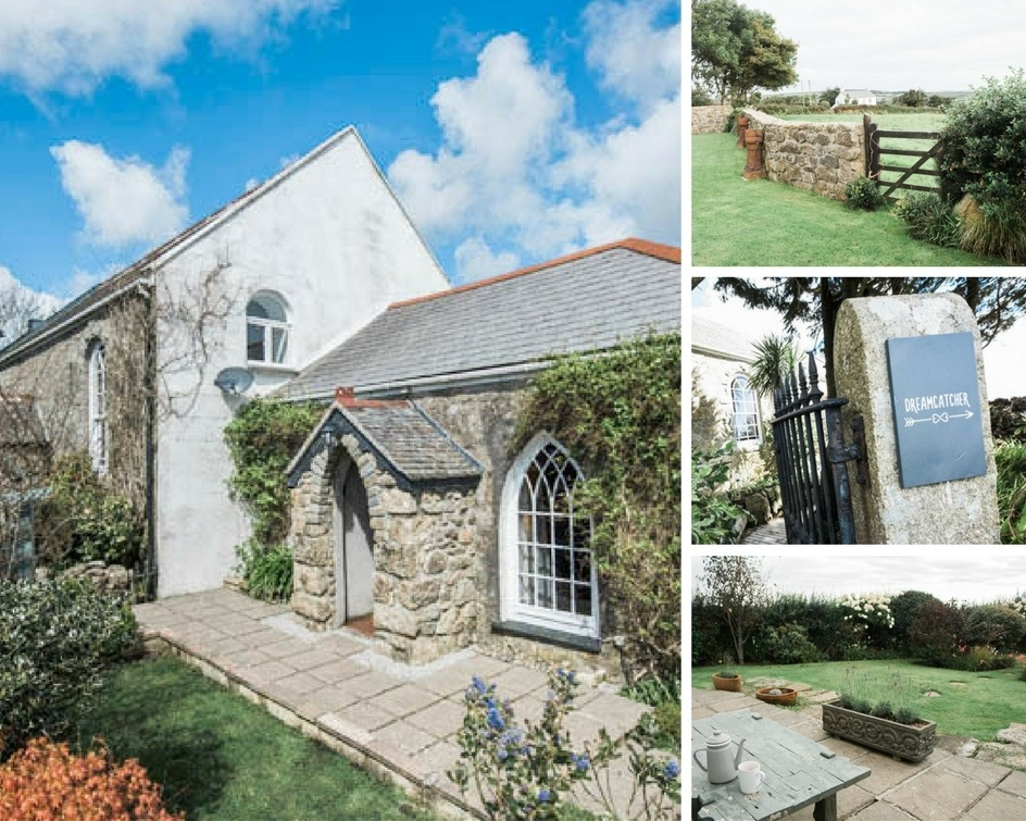Dreamcatcher cottage in Cornwall used to be a Wesleyan Chapel