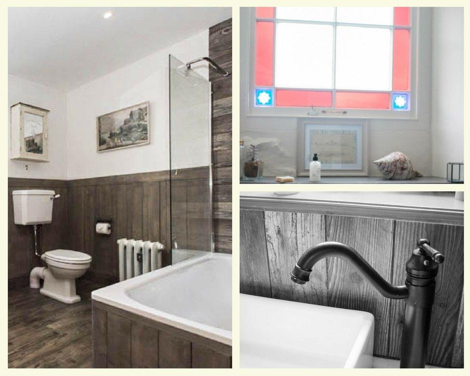Dreamcatcher Cottage Cornwall -bathroom