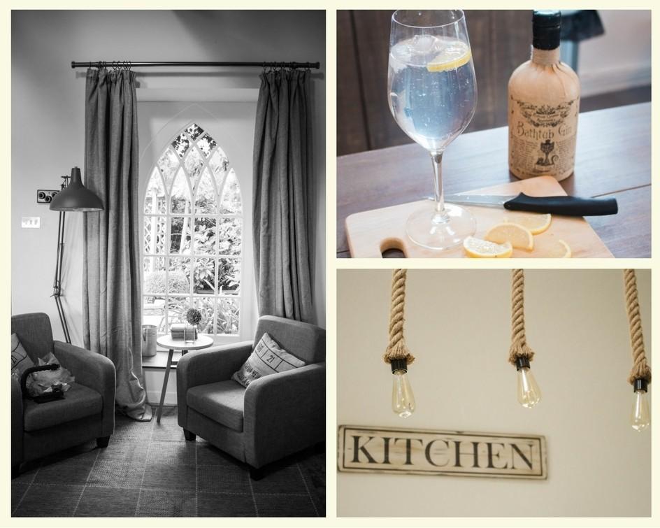 Dreamcatcher Cottage in Cornwall - kitchen
