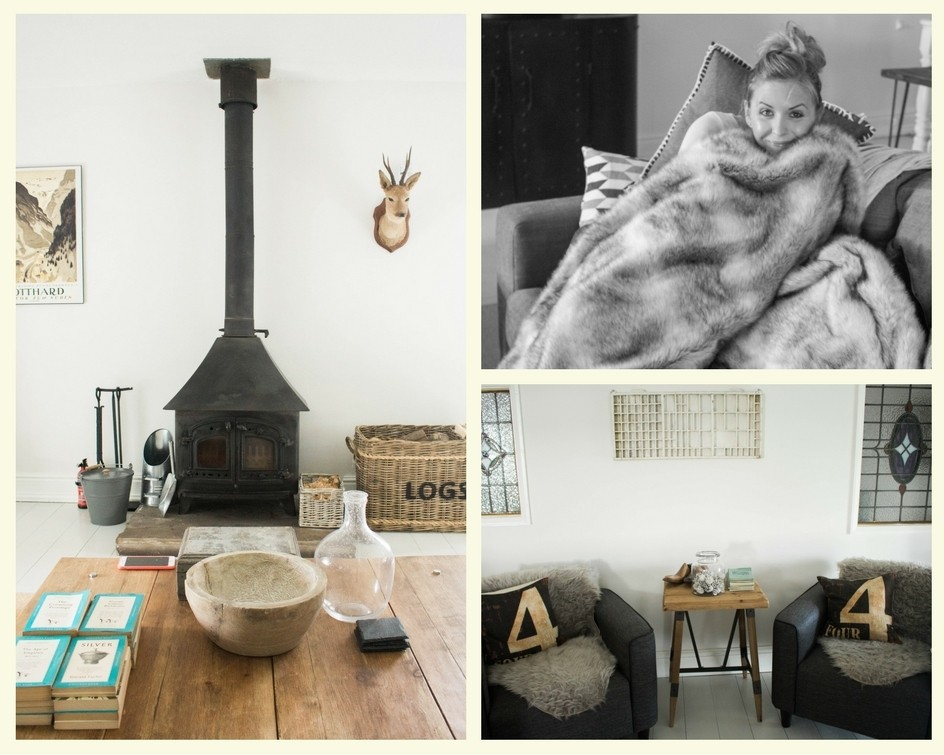 Dreamcatcher Cottage in Cornwall - the lounge