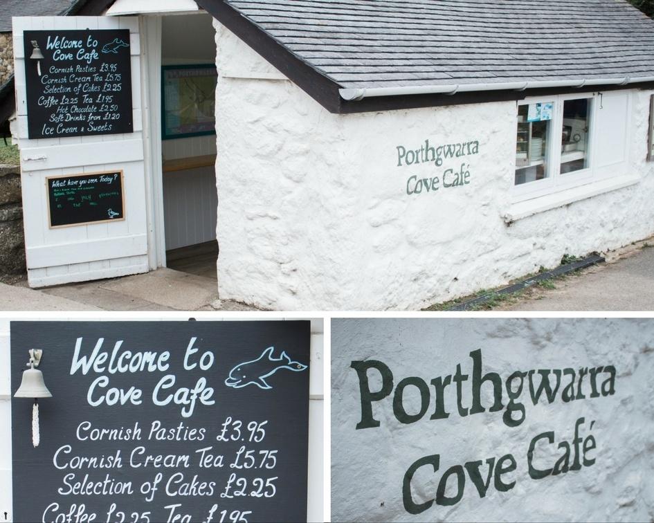 porthgwarra Cafe cornwall