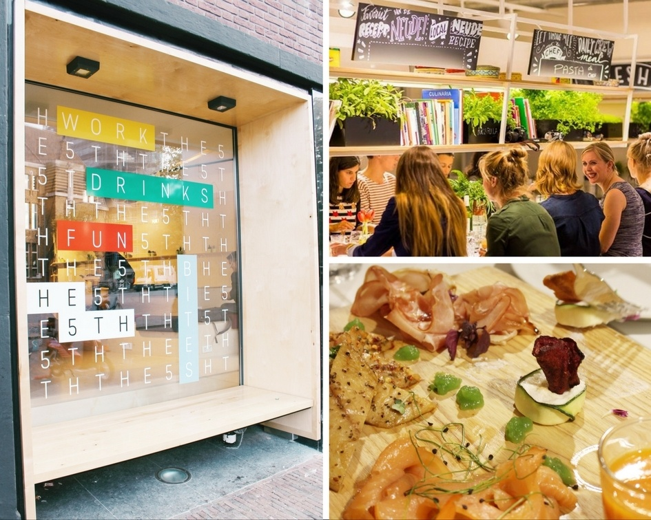 Food and Drink on The 5th Stayokay Utrecht