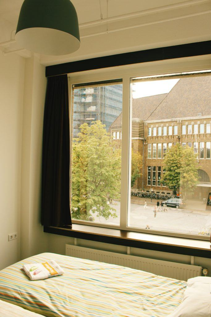 Private room at Stayokay Utrecht-Centrum
