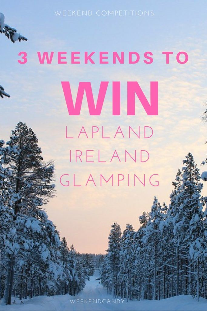 3 weekends to win!