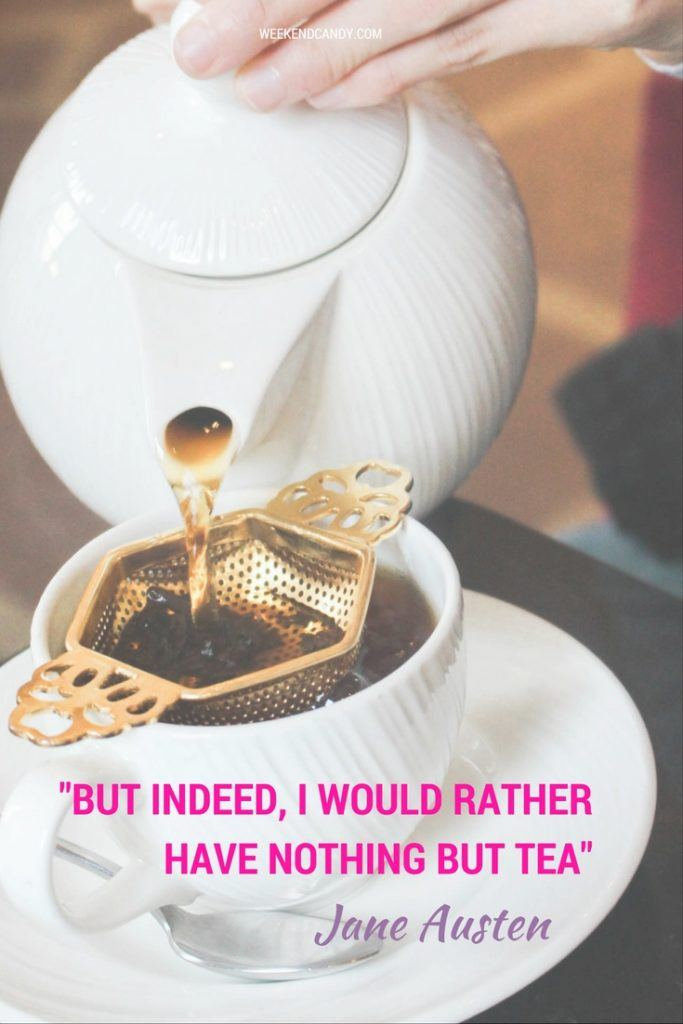 Jane Austen quote about tea