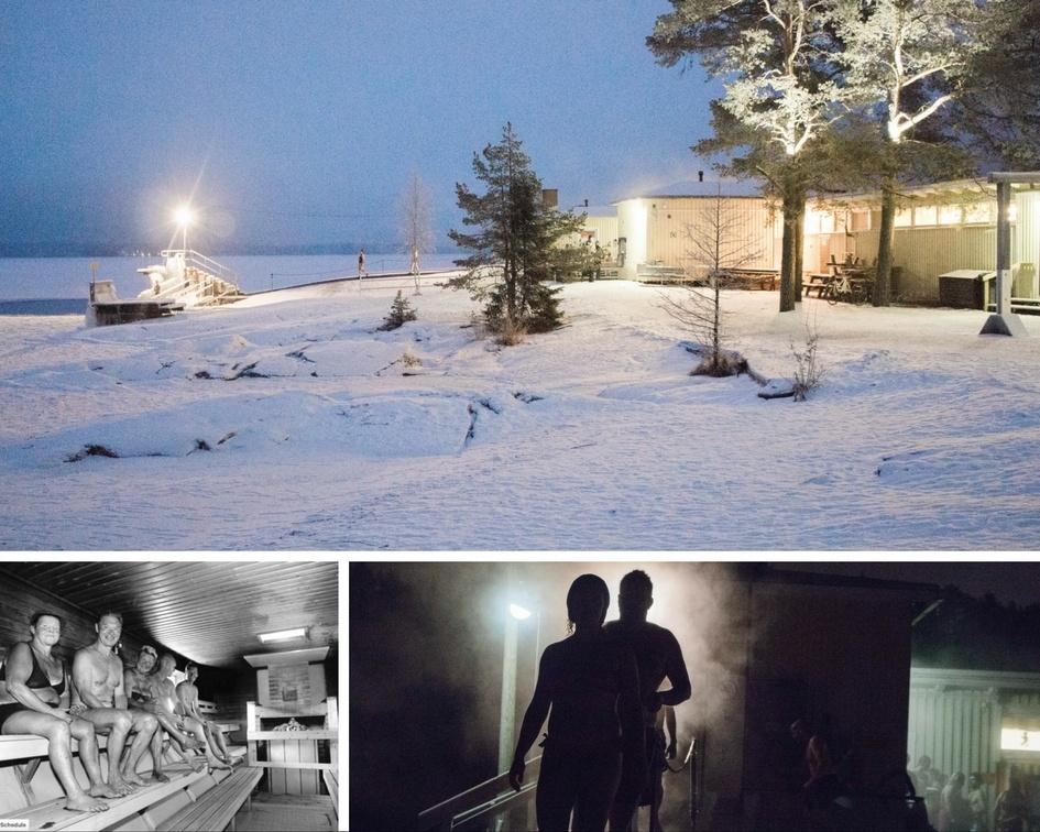 Sauna Rauhaniemi Tampere Finland