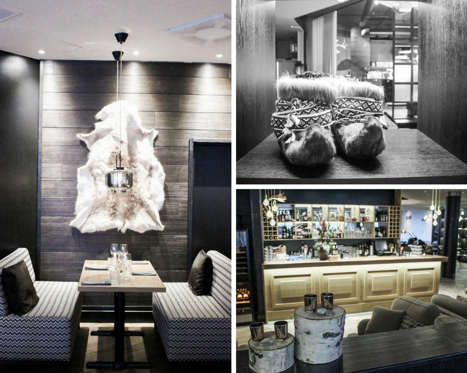 Bar and restaurant at Lapland Hotel