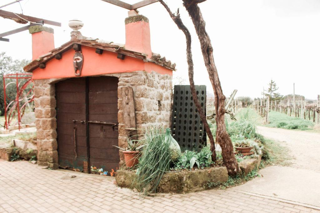 Cantina del Tufaio winery in Lazio