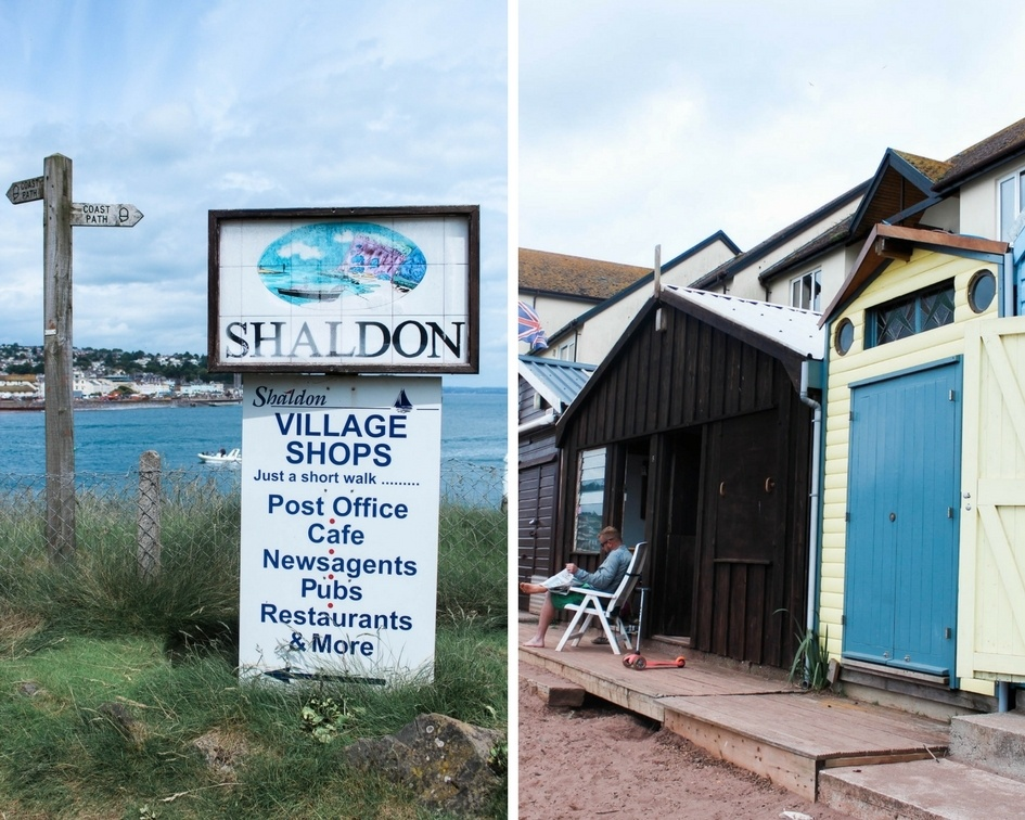 Shaldon sign in Devon