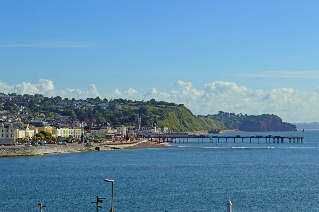 Pier in Teignmouth
