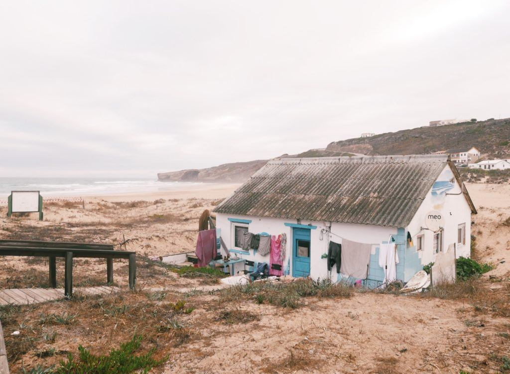 Surf shack in Portugal