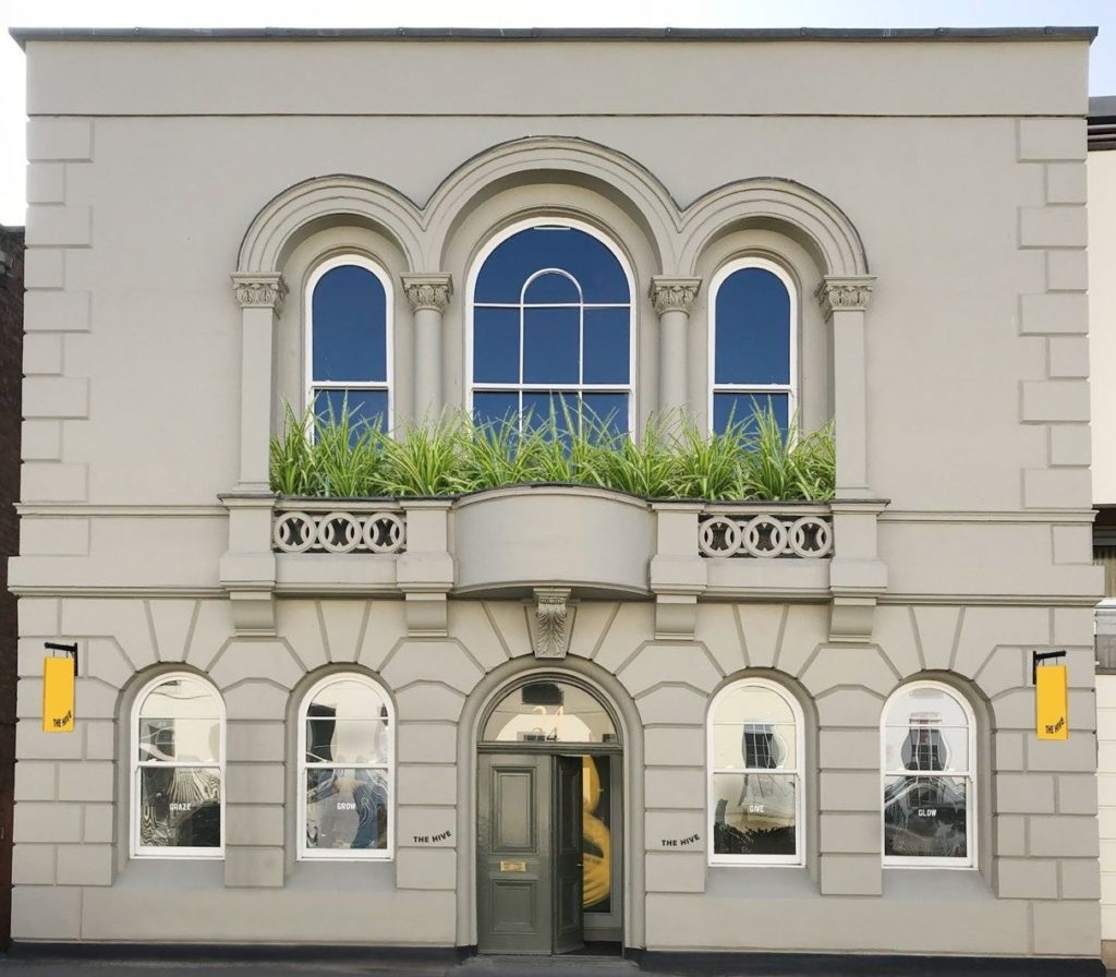 The Hive yoga studio in Cheltenham